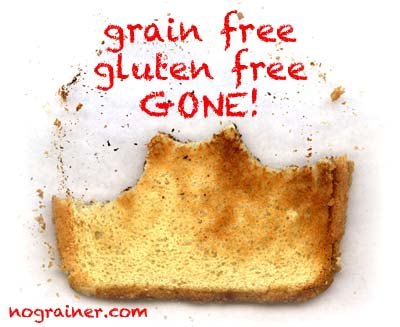 New Grain Free Bread is Gluten Free, Starch Free, Nut Free