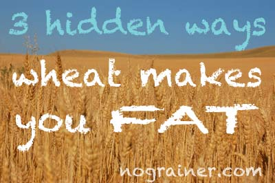 3 Hidden Ways Wheat Makes You Fat